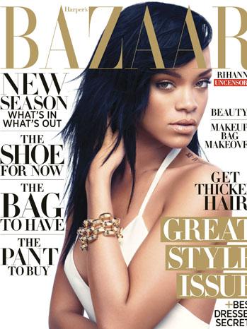 Harpers Bazaar Rihanna Cover - P 2012