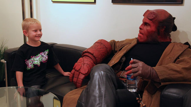 Ron Perlman Hellboy Make-a-Wish - H 2012