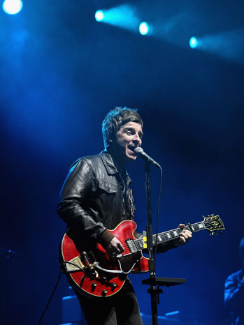 Noel Gallagher's High Flying Birds Performing - P 2012