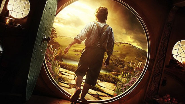 The Hobbit Door Frodo - H 2012