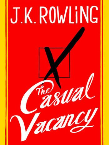 J.K. Rowling The Casual Vacancy Cover - P 2012