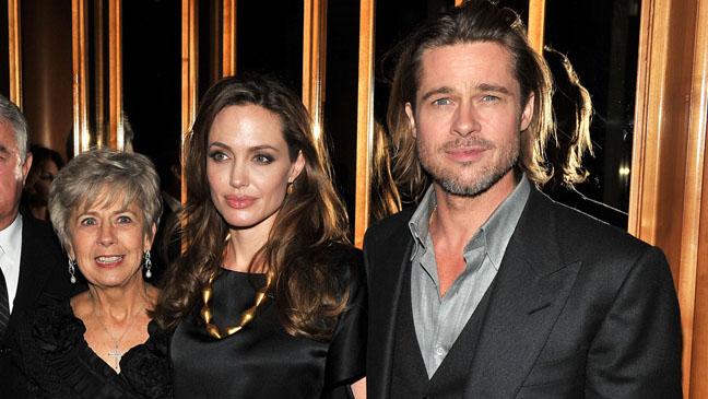 Jane Pitt Angelina Jolie Brad Pitt - H 2012