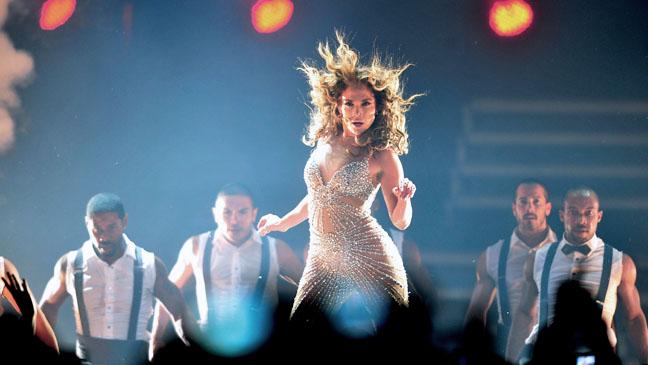 Jennifer Lopez Dance Again World Tour Chili - H 2012