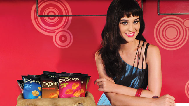 Katy Perry Pop Chips PR image - H 2012