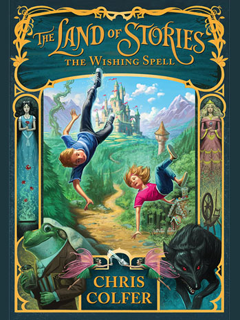 Land of Stories Chris Colfer - P 2012