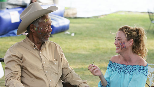 Magic of Belle Isle Morgan Freeman Virginia Madsen - H 2012