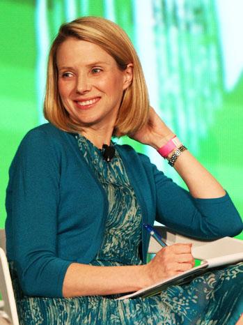 Marissa Mayer Google Yahoo - P 2012
