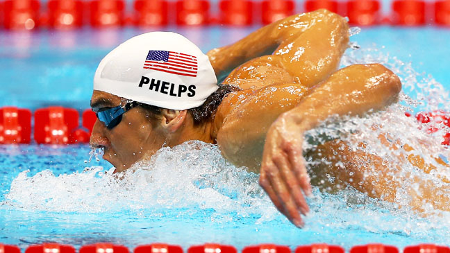 Summer Olympics Michael Phelps 200m Butterfly - H 2012