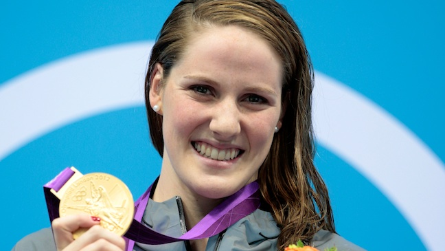 Missy Franklin Olympic Gold Medal H 2012