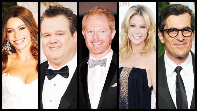 Modern Family Cast Split - H 2012