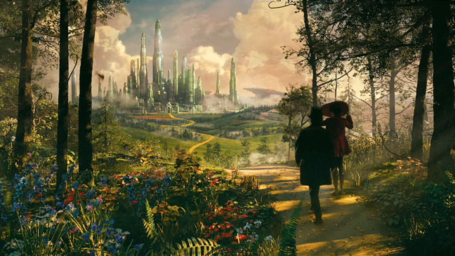 OZ The Great and Powerful Trailer Screenshot - H 2012