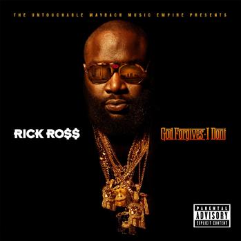 Rick Ross God Forgives cd cover P