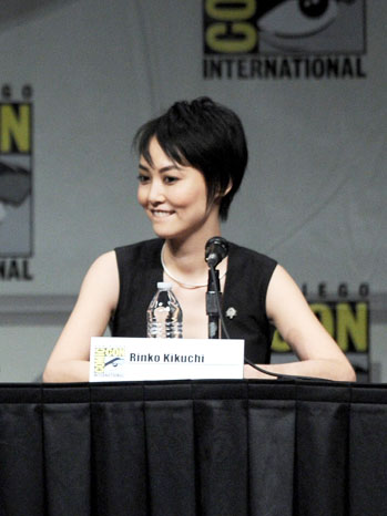Rinko Kikuchi Comic-Con Panel - P 2012