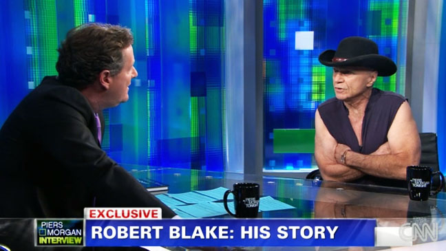 Robert Blake on Piers Morgan - H 2012