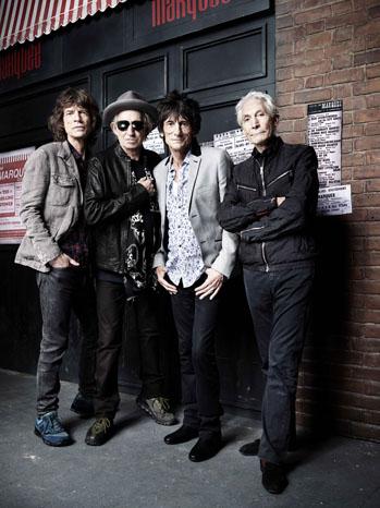 Rolling Stones Portrait Marquee Rankin - P 2012