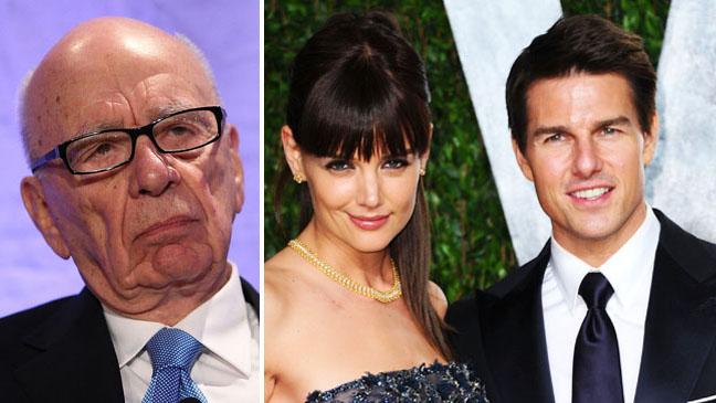 Rupert Murdoch and Tom Cruise Katie Holmes split
