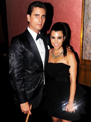 Kourtney Kardashian Scott Disick - P 2012