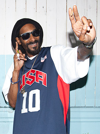 Snoop Dogg Lion press conference P