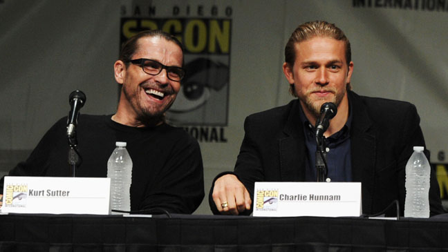 Sons of Anarchy Comic Con Panel 2012