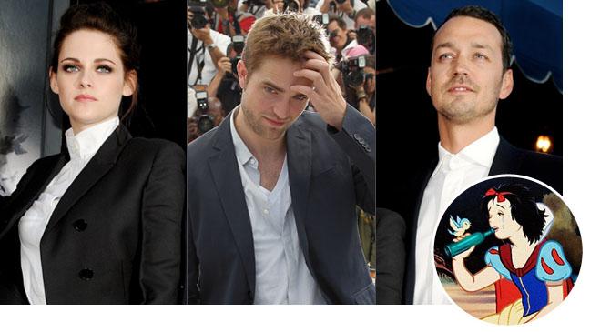 Kristen Stewart Robert Pattinson Rupert Sanders Drunk Snow White - H 2012