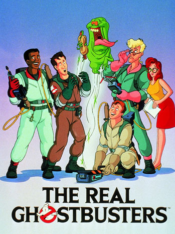 The Real Ghostbusters Poster Art - P 2012