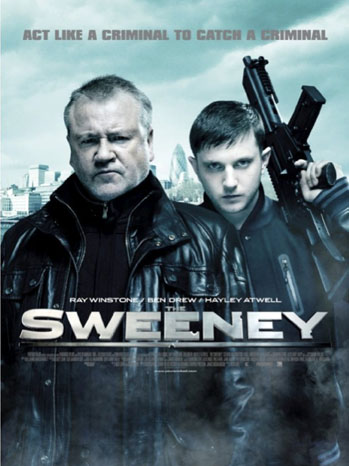 The Sweeney Poster Art - P 2012