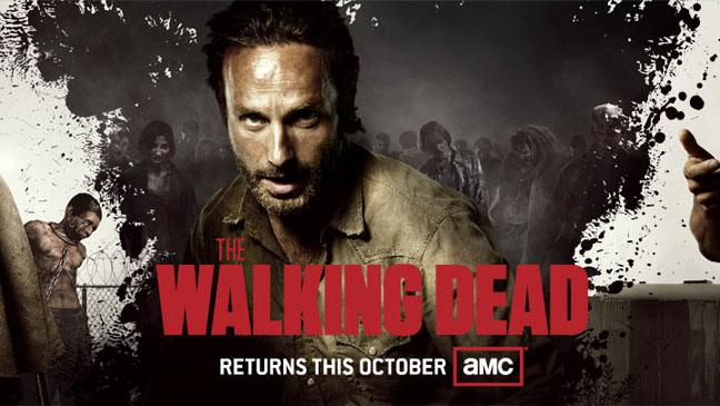 The Walking Dead Banner - H 2012