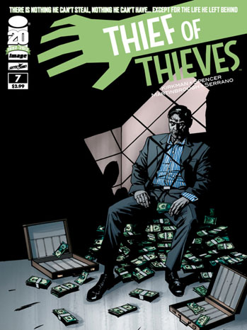 Thief of Thieves Cover Issue 7 - P 2012