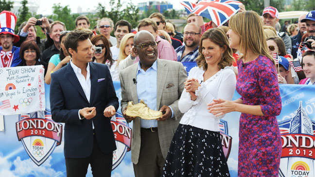 Today Show at the London Olympics - H 2012
