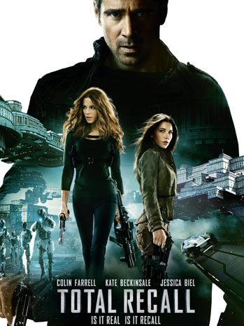 Total Recall One Sheet NEW - P 2012