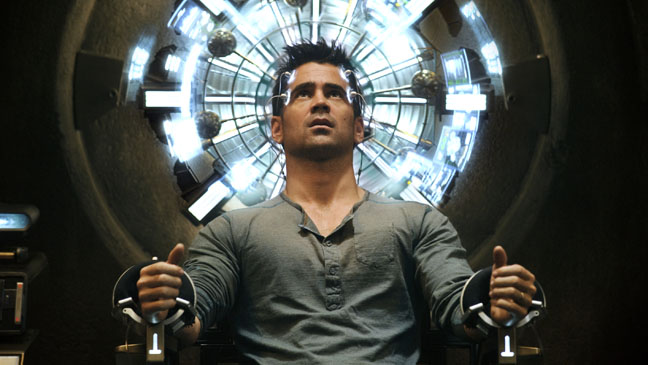 Total Recall Colin Farrell in Mind Trip Chair - H 2012