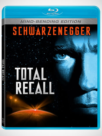 Totall Recall Blu-Ray DVD Cover Art - P 2012
