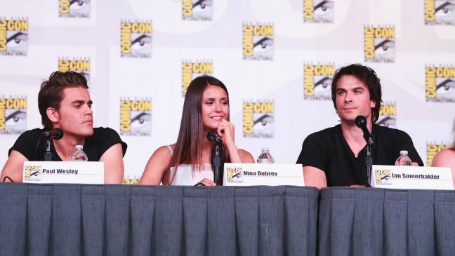 Vampire Diaries Comic-Con - H 2012