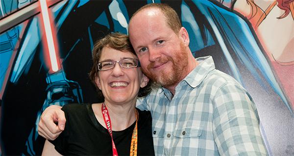 Joss Whedon and Jane Espenson H 2012