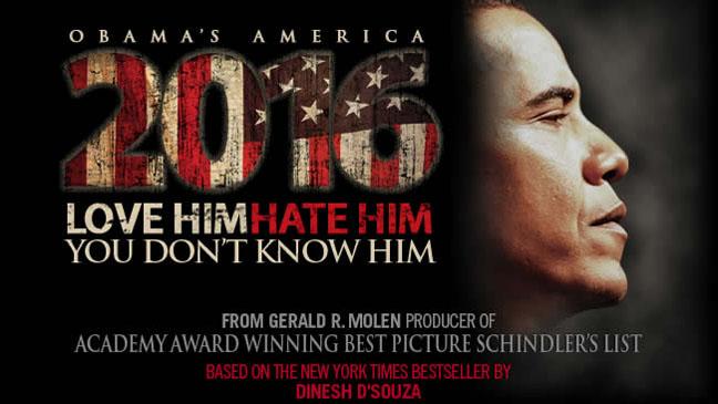 2016: Obama's America Poster - H 2012