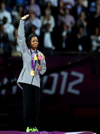 Gabrielle Douglas Wins All-Around