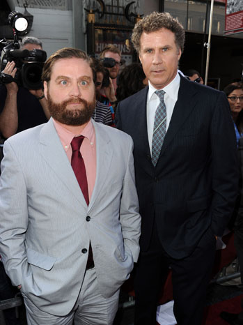 Zach Galifianakis and Will Ferrell