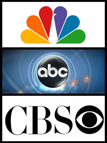 ABC CBS NBC Logo Split - P 2012