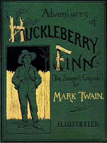 The Adventures of Huckleberry Finn Cover Green - H 2012