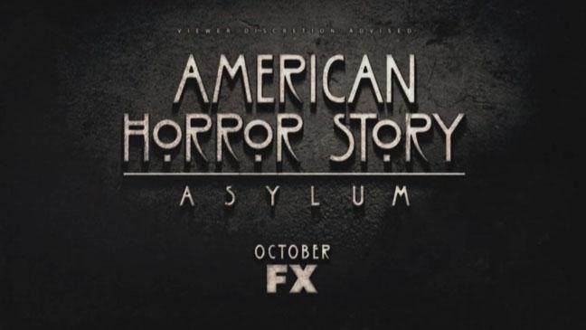American Horror Story Asylum title - H 2012