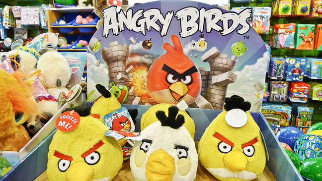Angry Birds stuffed animals - H 2012