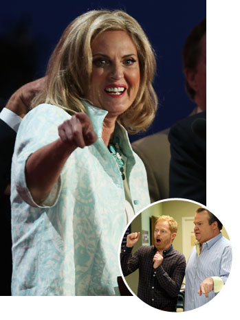 Ann Romney Modern Family - P 2012