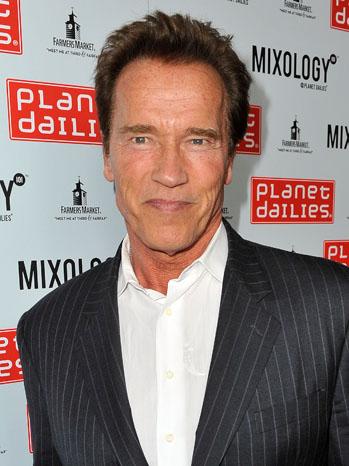 Arnold Schwarzenegger Headshot - P 2012