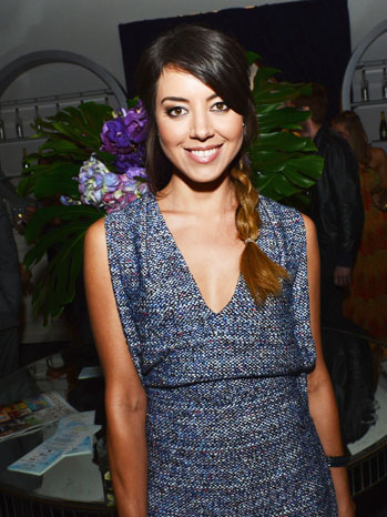 Young Hollywood Awards Party Aubrey Plaza - P 2012