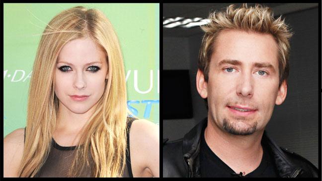 Avril Lavigne Chad Kroeger Split - H 2012