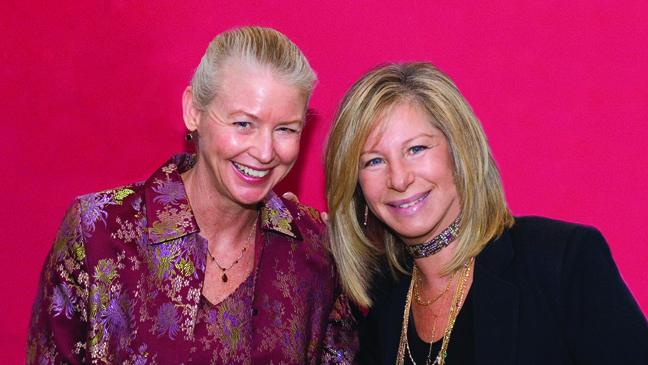Dr. Noel Bairey-Merz and Barbra Streisand - H 2012