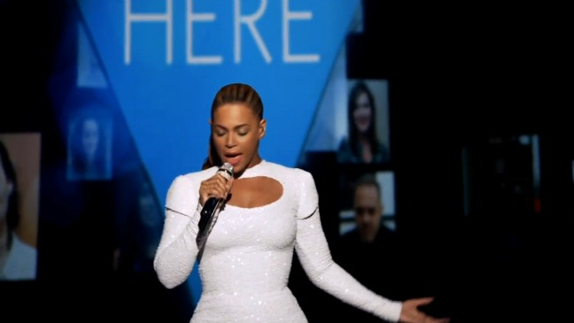 Beyonce I Was Here Screengrab - 2012 H