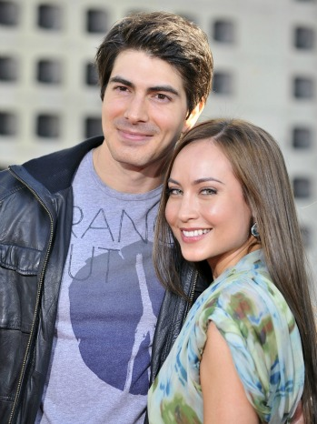 Brandon Routh Courtney Ford - 2012 P