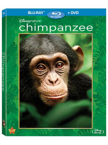 Chimpanzee Blu Ray Art - P 2012
