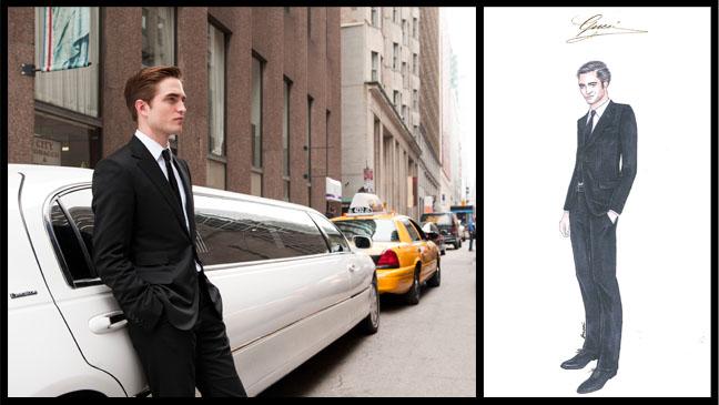 Cosmopolis Gucci Robert Pattinson - H 2012